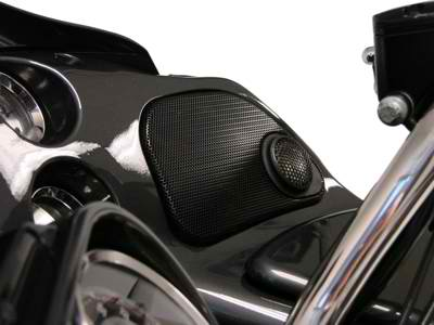 Hawg Wired, RG5254 Road Glide tweeter grills – V Twin Audio